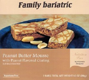Bar Peanut Butter Mousse