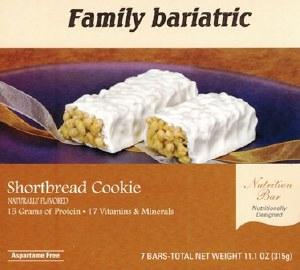 Bar Shortbread Cookie