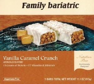 Bar Vanilla Caramel Crunch