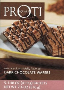 Proti Square Chocolate Wafers