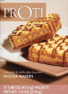Proti Square Mocha Wafers