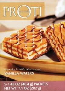 Proti Square Vanilla Wafers