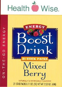 Boost Energy Drink Mixed Berry