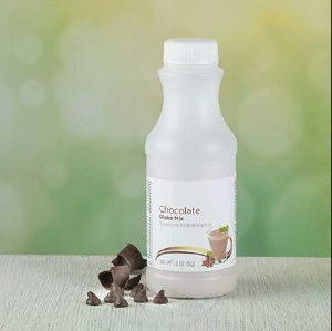 Bottle Chocolate Shake