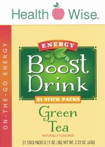 Boost Energy Drink Green Tea