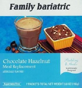 Chocolate Hazelnut Shake Pud.