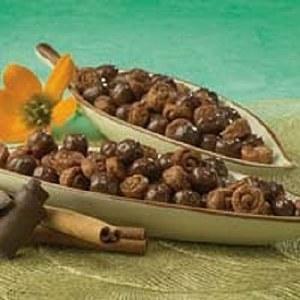 Cinnamon Swirls with Chocolate