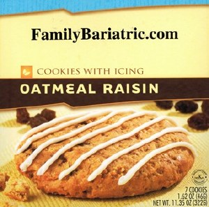 HW Cookie Oatmeal Raison Icing