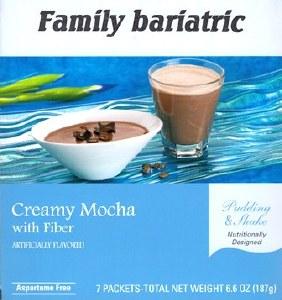 Creamy Mocha Pudding & Shake