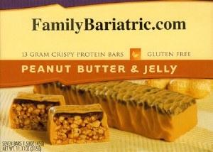 BAR Crispy 15  P B 'n Jelly