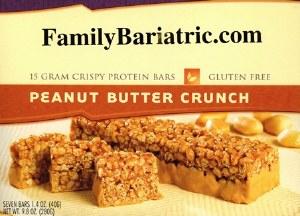 BAR Crispy 15 Peanut Butter