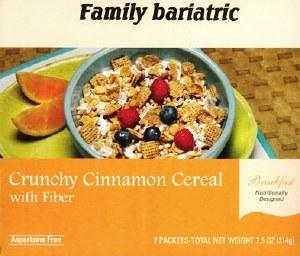 Cereal Crunchy Cinnamon /Fiber