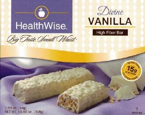 Divine Vanilla High Fiber Bar