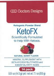 Doctors Designs KetoFX Berry