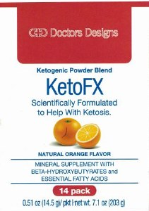Doctors Designs KetoFX Orange