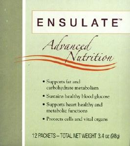 Ensulate Advanced Nutrition