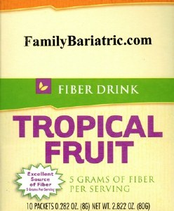 HW Fiber Tropical Fruit Drink
