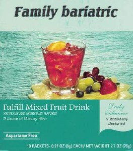 Fulfill Mixed Fruit Fiber Bev.