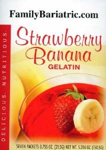 HW Gelatin Strawberry Banana