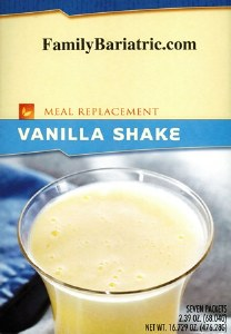 HW35g Vanilla Meal Replacement