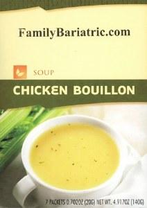 Soup Chicken Bouillon HW