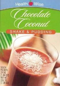 HW Chocolate Coconut Shake