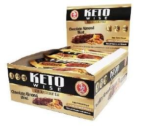 Keto Wise Choc Almond Bar