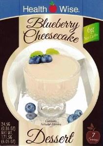 HW Blueberry Cheesecake