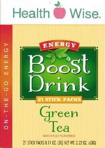Boost Energy Drink Green Tea