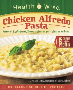 Pasta Chicken Alfredo  HW