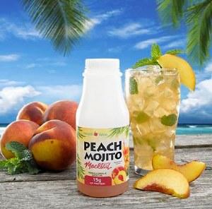Mocktail Peach Mojito