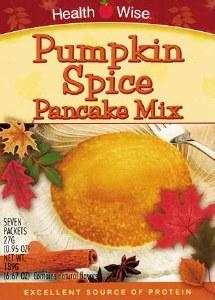 Pancake Mix Pumpkin Spice HW
