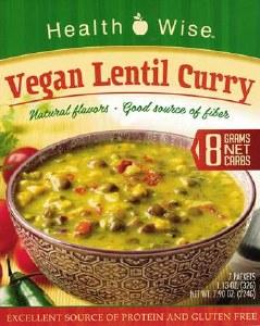 Vegan Lentil Curry Healthwise