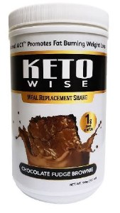 Keto Wise MR Choc Fudge Brwn