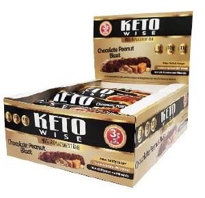Keto Wise Choc Pnut Blast Bars
