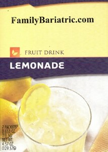 Fruit Drink Lemonade HW AF