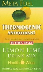 Meta Fuel Lemon Lime Drink