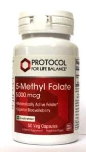 Protocol Methyl Folate 5mg