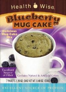 Mug Cake Blueberry