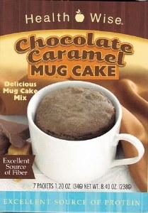 Mug Cake Chocolate Caramel