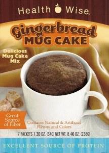 Mug Cake Gingerbread