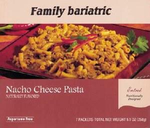 Pasta Nacho Cheese Entrée