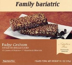 Bar Nutrition Fudge Graham