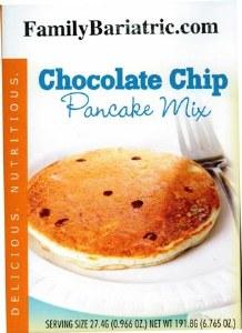 Pancake Mix Chocolate Chip HW