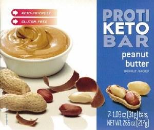 Proti Keto Bar Peanut Butter