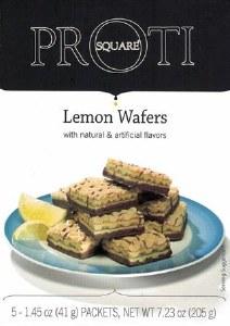Proti Square Lemon Wafers