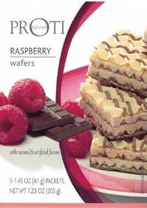 Proti Square Raspberry Wafers