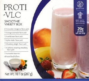 Proti VLC Variety Smoothie Box