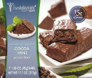Proti Bars Cocoa Mint Bars