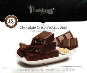 Proti VLC Chocolate Crisp Bars